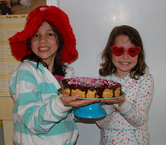 Sous Chefs Anna (left) and Mavourneen (right)